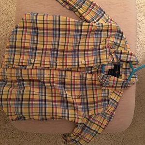 Ralph Lauren Toddler Plaid Long Sleeve